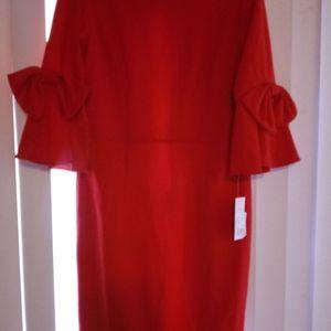 New. Donna Morgan. Red dress.